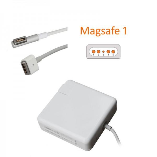 GRS Netzteil für Apple MacBook Air 13, MacBook Air 11 Zoll, A1370, A1374, MagSafe 1, 45W