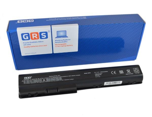 Akku HSTNN-IB75, HP Pavilion DV7 Series, 4400 mAh