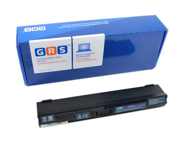 Akku UM09A75, Acer Aspire one 751, 4400 mAh