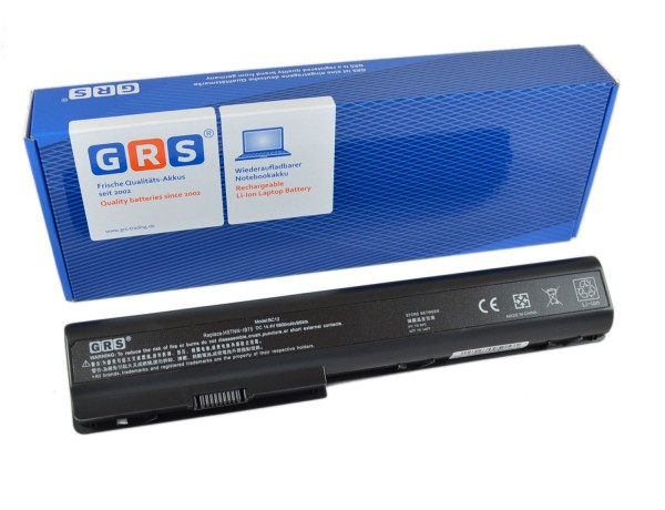 Akku HP dv7-3030eg, 6600mAh/95Wh