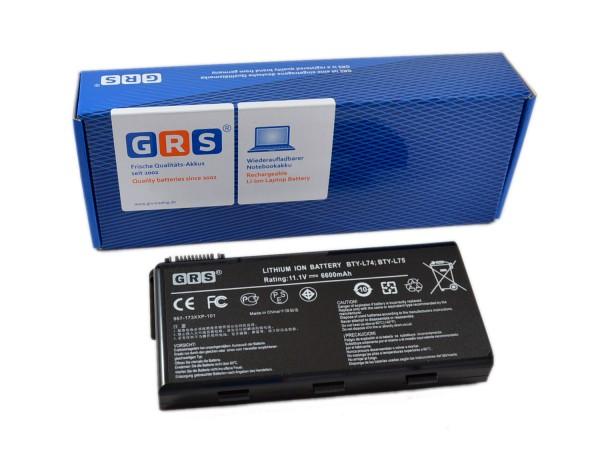 Akku MSI CR620, MSI CX705, BTY-L74, 957-173XXP-102, 6600mAh,11,1V