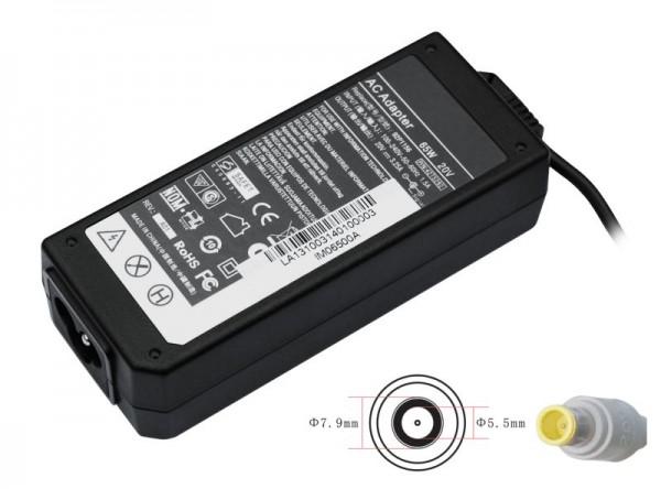 Netzteil IBM Lenovo ThinkPad X60s , 92P1153, 20V/4,5 A (65 Watt)
