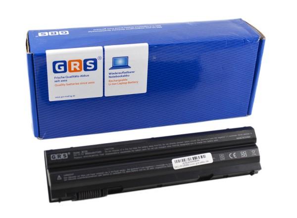 Akku DELL Latitude E6520 Serie, P8TC7, P9TJ0, R48V3, PRRRF, 6600mAh/73Wh