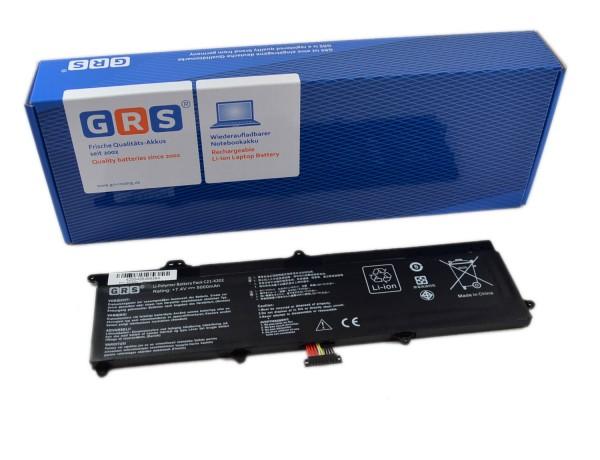 Akku ASUS VivoBook X201E, E202E, R200, C21-X202, 5000mAh, 7,4V