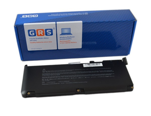 Akku APPLE MacBook Pro 15 Zoll, MB986LL/A, 5200mAh,10,8V