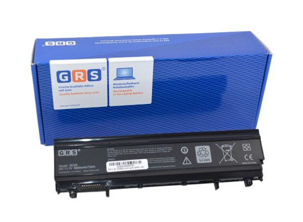 Akku Dell Latitude E5440, N5YH9, VV0NF, VVONF, 6600mAh/73Wh 11.1V