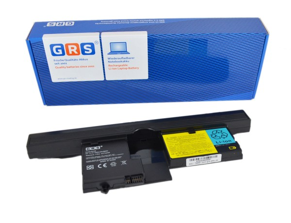 Akku IBM Thinkpad X60/X61, 42T5204 42T5206 42T5208 42T5251 ,4400mAh, 14,4V