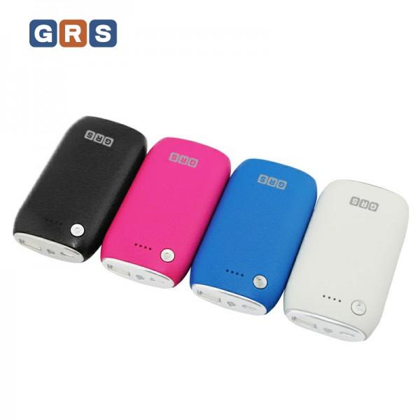 GRS Externer Handyakku Samsung GT-I8750, Samsung Galaxy Tab 2 mit 5200mAh, Weiss