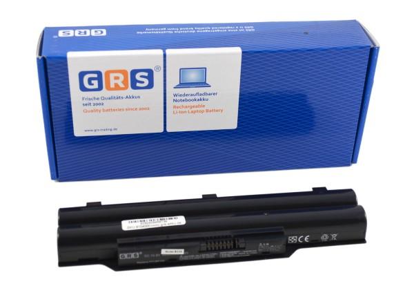 Akku Fujitsu LifeBook FPCBP250AP, S26391-F495-L100, 4400mAh/48Wh 10.8V