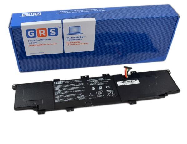 Akku ASUS VivoBook S300, S300C, C31-X402, 4000mAh, 11,1V