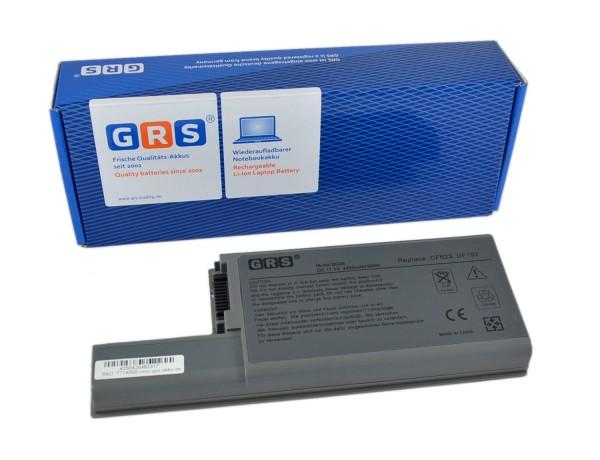Akku 312-0393, Dell Latitude D820, 4400 mAh