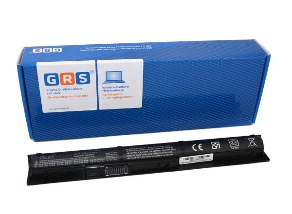 Akku HP ProBook 450 G3 Serie, RI04, HSTNN-PB6Q, 2200mAh/32Wh 14.4V
