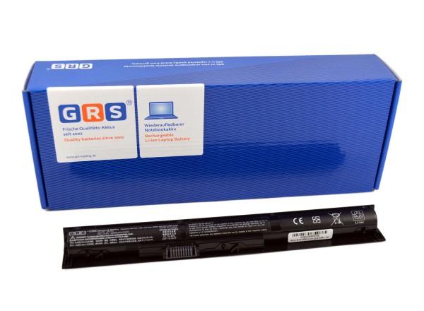 Akku HP ProBook 440, 445, 455 Serie, 756479-421, 2200mAh/33Wh 14,8V