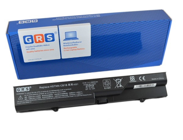 Akku HP 587706-241, 6600mAh/71Wh