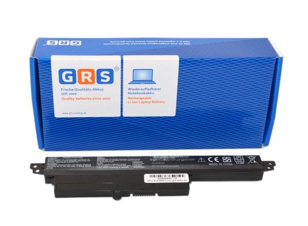 Akku ASUS VivoBook X200CA, A31N1302, 1566-6868, 2200mAh/24Wh 11.1V