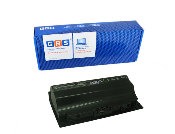 Akku ASUS G75, G75V, G75VM 3D Serie, A42-G75, 4400mAh/65Wh 14,8V