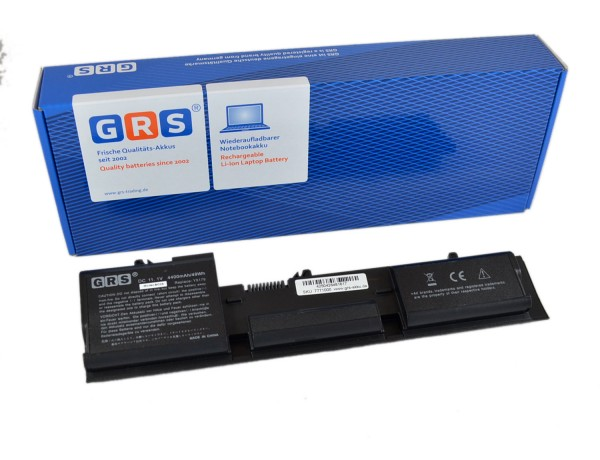 Akku T6142, Dell Latitude D410, 4400 mAh