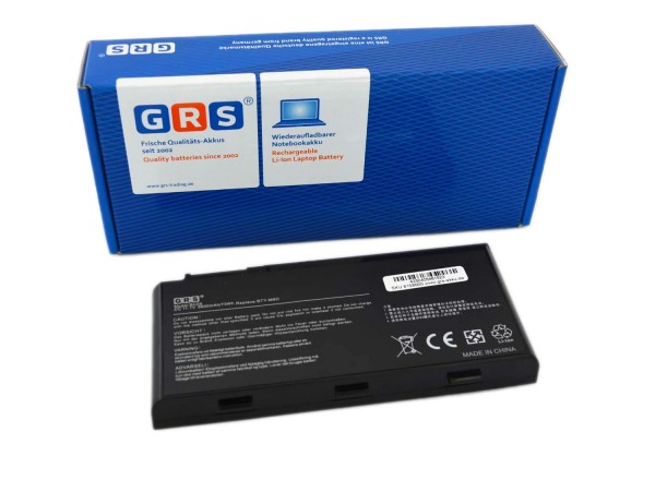 Akku Medion Erazer X6813, X6811 Serie, BTY-M6D, 6600mAh/73Wh 11.1V
