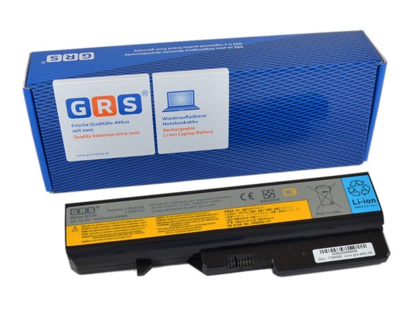 Akku LO9S6Y02, Lenovo G460, 4400 mAh