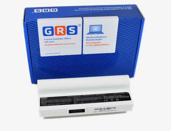 Akku Eee PC 901 Serie, AL23-901 mit 6600mAh, weiß