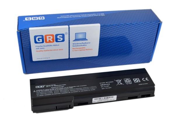 Akku HP 628369-421, 6600mAh/73Wh, 11.1V