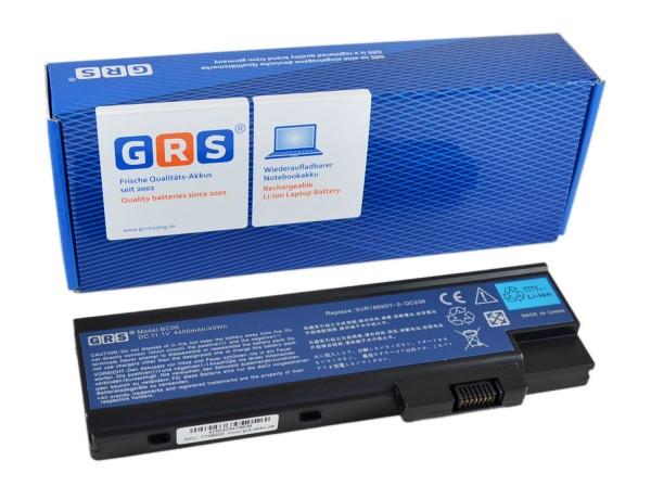 Akku 3UR18650Y-2-QC236, Acer Aspire 5600 Series, 4400mAh